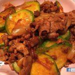 韓式翠肉瓜泡菜炒豬肉 (附食譜)