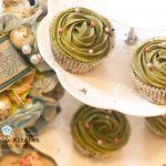 綠茶杯子蛋糕 Green Tea Cupcake with Buttercream Frosting